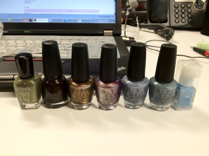 My loot from NailVibe arrived!