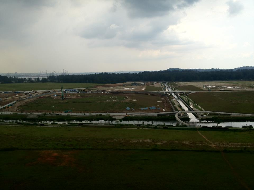 Punggol under construction