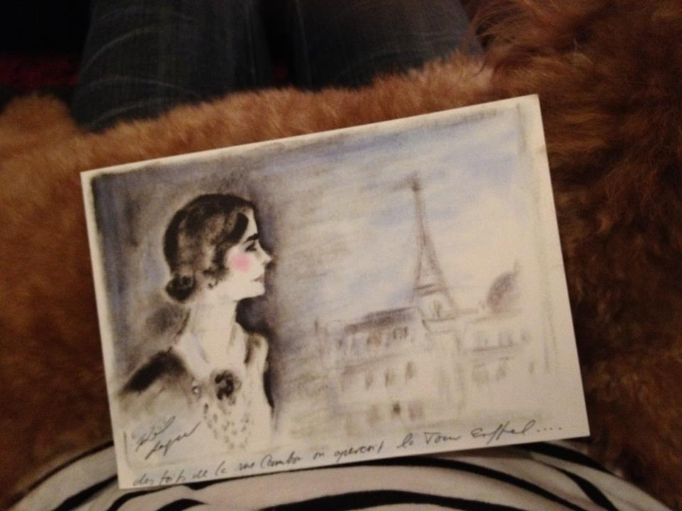 Direct mailer from Chanel, very artistic