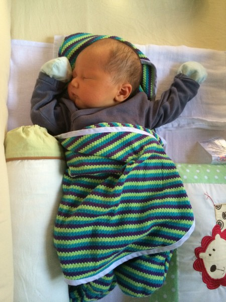 Ardan at 3 Days Old