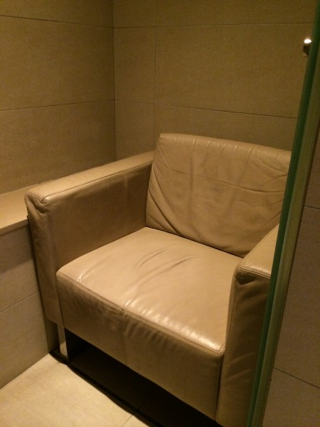 Single Sofa Chair in the Cubicle