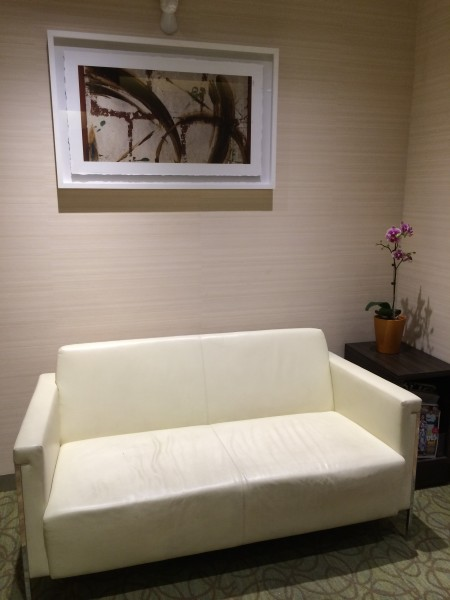 Two Seater Sofa at the Entrance