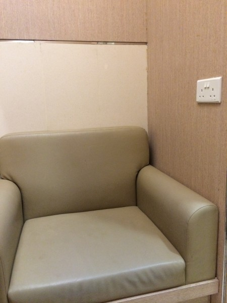 Single Seat Sofa with Power Socket