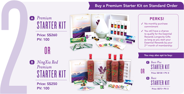 Young Living Enrollment Option 2